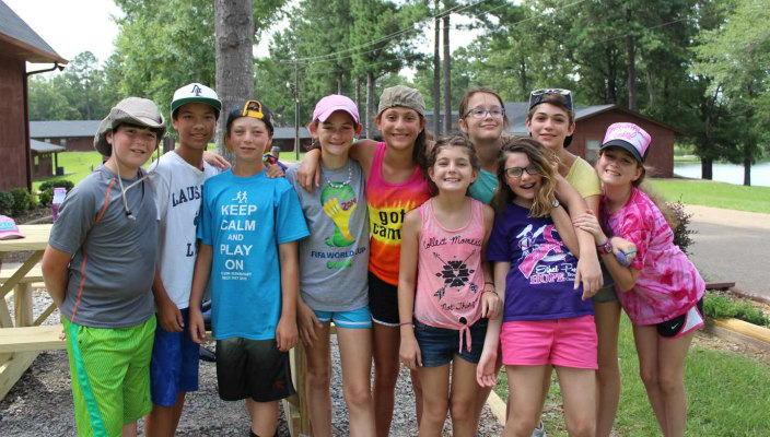 Campers at URJ Jacobs Camp