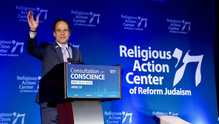 Rabbi Jonah Pesner at the 2019 Consultation on Conscience