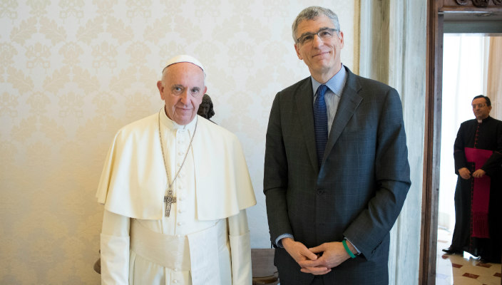 Pope Francis and Rabbi Rick Jacobs