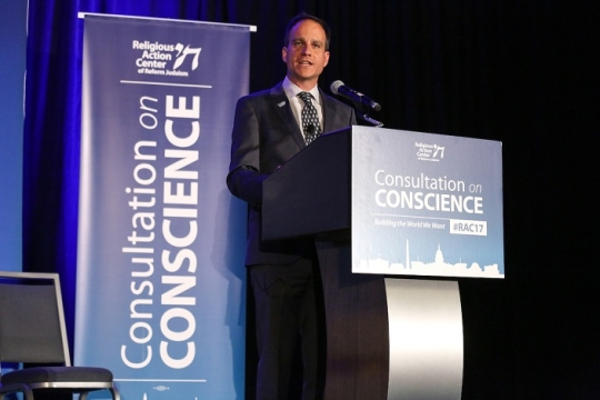 Jonah Pesner at Consultation on conscience