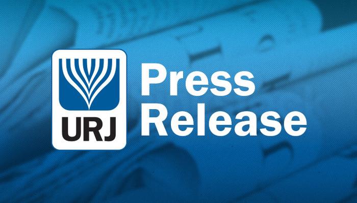 URJ Press Release